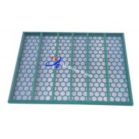 Buy cheap Fluid System Industry Vibrating Sieving Mesh , Metal Shale Shaker Screen from wholesalers