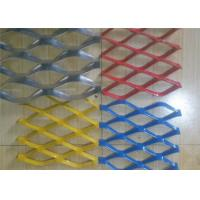 Buy cheap Colorful Expanded Stainless Steel Mesh with Firm Structure Diamond Hole from wholesalers