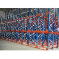 Buy cheap Q235 Q345 Steel Pallet Racks Radio Shuttle Racking Optimizing Space Networking Control from wholesalers