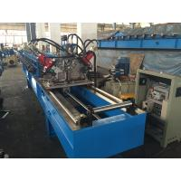 Chain Drive Double Row Roll Forming Equipment With Punching / Track Cutting System