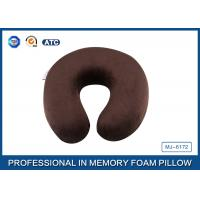 Buy cheap Brown Children Memory Foam Evolution Travel Pillow For Head and Neck Rest from wholesalers
