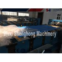 Buy cheap 380V 50Hz Roof Roll Forming Machine , Corrugated Metal Deck Roof Tile Making Machine from wholesalers