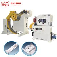 Buy cheap Automatic Decoiling And Straightening Machine For Power Press from wholesalers