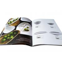 Buy cheap Catalog Printing Services For Kitchenware Adornment 8.5 x 11 Size from wholesalers