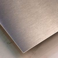 Buy cheap SUS316L Silver Colors Colored Stainless Steel Sheets ,PVD Decoration Sheets 1250mm 1500mm Length Max 6000mm product