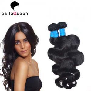 Buy cheap Full Cuticle And Tangle Free European Virgin Hair Natural Black Human Hair Weft product