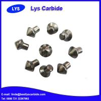 Buy cheap Cemented carbide buttons F types sharp claw button,J & JC types auger tips button, Point attack bits from wholesalers