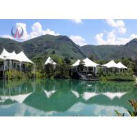 Buy cheap Fantastic Light Luxury Tent Hotel Prefabricated Building Rock Wool Insulation from wholesalers