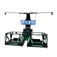 Buy cheap 2 Person 9D VR Walking Station Space Platform 24 Inch Display For Theme Park from wholesalers
