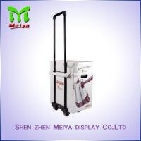 Buy cheap Recyclable Cardboard Trolley Box with Wheels and Handle For  Expo And Exhibition from wholesalers