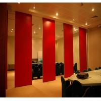 Buy cheap Movable Door Rollers Banquet Hall Acoustic Partition Wall Panel Thickness 65mm OEM / ODM from wholesalers
