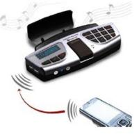 Buy cheap Bluetooth Steering wheel car kit with mp3 player from wholesalers