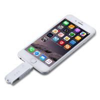 Buy cheap Plastic Cable Small Iphone Flash Drive 16GB 32GB 64GB Capacity product