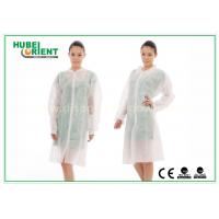 Buy cheap Dental Medical Tyvek Disposable Lab Coats / Plus Size Lab Coats Breathable For Body product