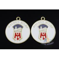 Buy cheap Soft Enamel With Epoxy Metal Zinc Alloy Iron Custom Award Medals Bespoke Design Running Events from wholesalers