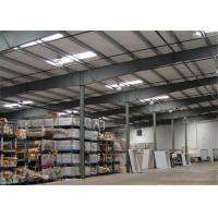Buy cheap Earthquake Proof Steel Structure Workshop With Insulation Color Steel Sheet from wholesalers