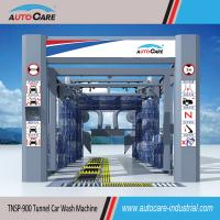 Buy cheap Automatic vehicles wash machine with Flat belt conveyor/Automated stainless tunnel car wash from wholesalers