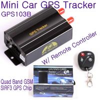 Buy cheap GPS103B Remote Control Car Vehicle Truck GPS Tracker Real Time GPS Tracking product