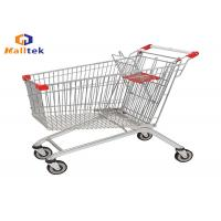 Buy cheap European Style Supermarket Shopping Trolley Cart For Retail Grocery Store from wholesalers