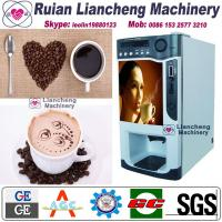 Buy cheap coffee pod machine  Bimetallicraw material 3/1 microcomputer Automatic Drip coin operated instant from wholesalers