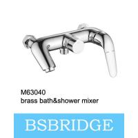 Buy cheap BSBRIDGE 2017 New Design Brass Bath and Shower Mixer Copper Bath Shower Faucet M63040 High Polishing from wholesalers