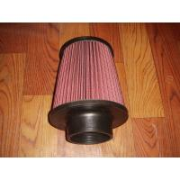 Buy cheap Racing Auto Air Filters Upper And Lower With Rubber Cover / k And n Air Intake Filter from wholesalers