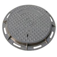 Buy cheap Custom Sand Casting Cast Iron Manhole Cover With Frame Antirust Oil Finish from wholesalers