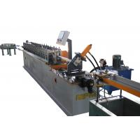 Buy cheap Ceiling Channel Roll Forming Machine / T Bar Suspended Ceiling Grid Production Line from wholesalers