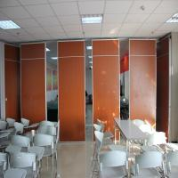 Buy cheap Soundproof Partition Panel Floor To Ceiling Folding Doors 65 Mm With Free Design product
