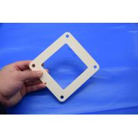 Buy cheap Chemical Resistance Alumina Ceramic Parts , 95% 99% 99.5% Alumina Ceramic Square Ring from wholesalers