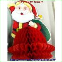 Buy cheap christmas  honeycomb decoration  craft from Wholesalers