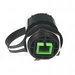 Buy cheap Fiberhub enclosure ODVA SC/LC/MPO IP67 Bulkhead Inline Adapter from wholesalers