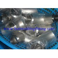 Buy cheap 316Ti Long Radius And Short Radius Elbow , Stainless Steel Elbow 180 Degree Bend from wholesalers
