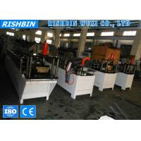 Buy cheap Color Steel Stud and Track Roll Forming Machine for C Stud , U Runner , U Track product