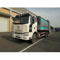 Buy cheap HJK5251ZYS5JF FAW 6X4 Capacity 20 CBM Garbage Compactor Truck Euro 3 / Euro 5 from wholesalers