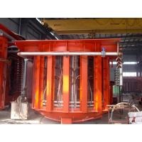 Buy cheap Tilting Melting Induction Furnace for Melting Steel Making from wholesalers