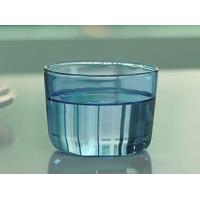 Buy cheap Colored high borosilicate pyrex double wall drinking glasses , Light blue from wholesalers