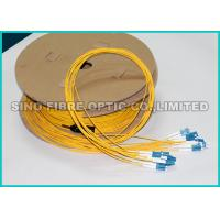 Buy cheap 2.0MM 9 / 125um Pre Terminated Fiber Optic Cable OS2 For Telecom Utilities from wholesalers