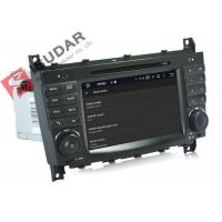 Buy cheap Multi Touch Screen Mercedes C Class Dvd Player , Mercedes Benz Head Unit 4G from wholesalers