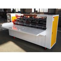 Buy cheap BFY Series Thin Blade Slitter Scorer , Paperboard Slitting And Creasing Machine from wholesalers
