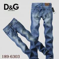 Buy cheap free shipping D&G men jeans cotton pants hot sell jeans from wholesalers