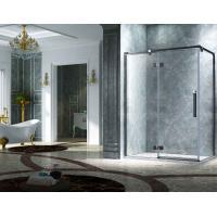 Buy cheap Elegant Design Semi Frameless Diamond Shape Shower Enclosure With Pivot Door, AB product