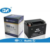 Buy cheap Black 12v Motorbike Battery 2.8 / 3.0kg , MF Seald 12v 9ah Battery Motorcycle from wholesalers