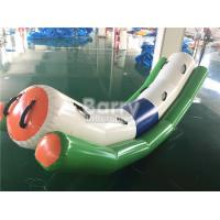 Buy cheap Commercial Grade Inflatable Toys Water Teeter Totter Seesaw For 4 Peoples On Water from Wholesalers