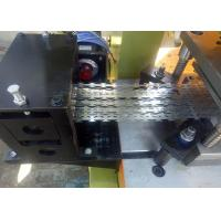 High Efficiency Razor Barbed Wire Machine Automatically Punching Eleven Strips