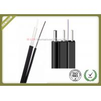 Buy cheap 2Core Outdoor FTTH Drop Fiber Optic Wire Flat Cable GJXFCH with Non-metal strength member from wholesalers