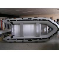Buy cheap PVC 430 Cm Inflatable Sport Boat Easy Take Against Abrasion With Foot Pump from wholesalers