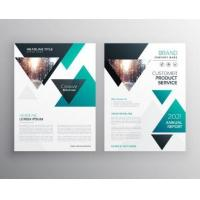 Buy cheap Customized Corporate Business Brochure , Printable Business Brochure Templates product