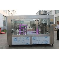 Buy cheap Automatic Drinking Water Filling Machine , Stainless Steel Bottled Water Production Line from wholesalers