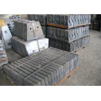 Buy cheap Checked by UT Test Cr-Mo Alloy Steel Mill Liners Mine Mill / Cement Mill / Coal Mill Hardness HRC33-42 Shot Blasting from wholesalers